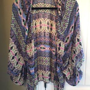 Aztec kimono.